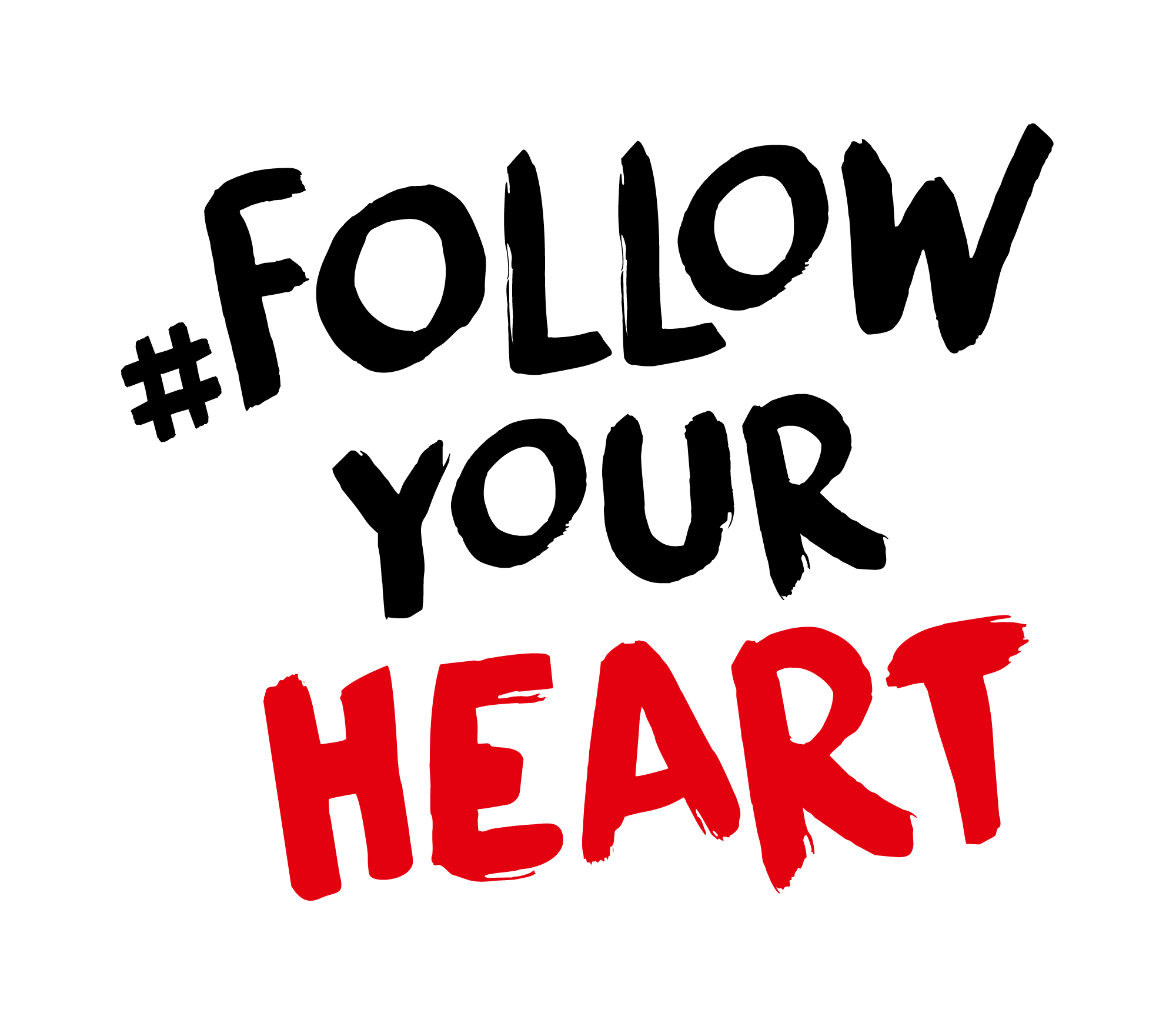 Follow your heart Signet positiv 1